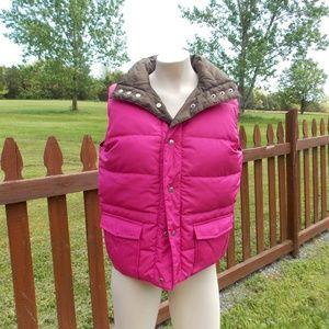 Juicy Couture VIVA LA JUICY Reversible Puffer Vest